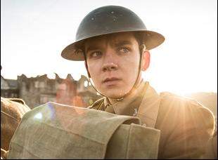 """Asa Butterfield in """"Journey's End"""""""