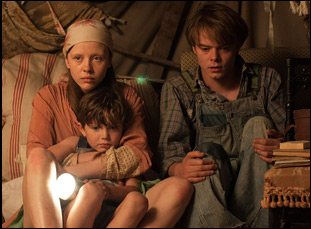 "Mia Goth, Charlie Heaton and Matthew Stagg in ""Marrowbone"""