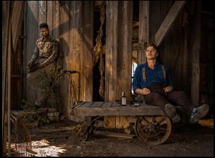 """Jason Mitchell and Garrett Hedlund in """"Mudbound"""""""