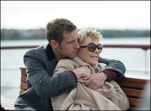 "Jamie Bell and Annette Bening in ""Film Stars Don't Die in Liverpool"""