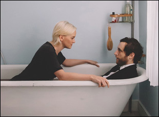 """Jess Weixler and Thomas Middleditch in """"Entanglement"""""""