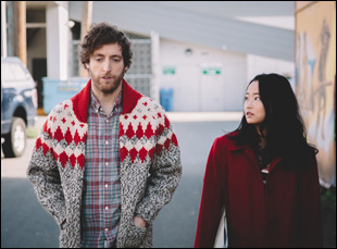 """Thomas Middleditch and Diana Bang in """"Entanglement"""""""
