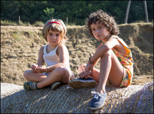 "Laia Artigas and Paula Robles in ""Summer 1993"""