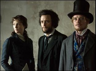 """Vicky Krieps, August Diehl and Stefan Konarske in """"The Young Karl Marx"""""""
