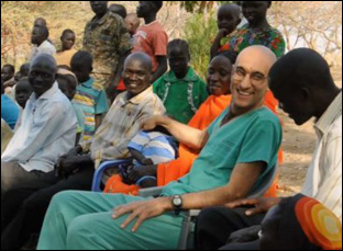 "Dr. Tom Catena in ""The Heart of Nuba"""