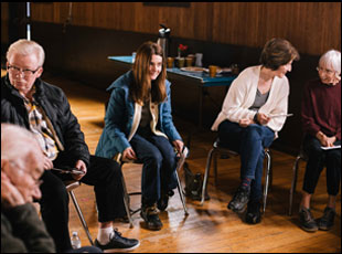 "Shirley Henderson in ""Never Steady, Never Still"""