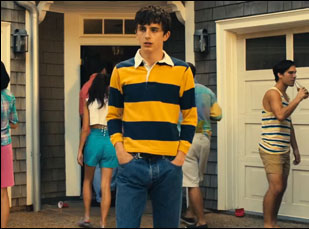 "Timothee Chalamet in ""Hot Summer Nights"""