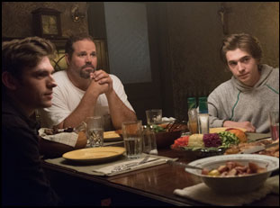 """David Denman, Austin Abrams and Bubba Weiler in """"Puzzle"""""""