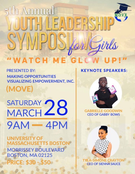 Flyer for Youth Leadership Symposium 2020