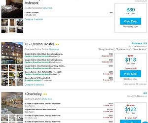 Rent a Room for a Night for  $50 in Boston.