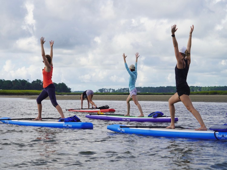 Stand up Paddle Board Classes at Move Fitness