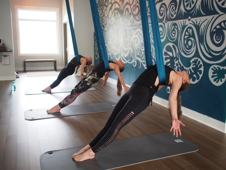 Aerial Yoga Classes at Move Fitness