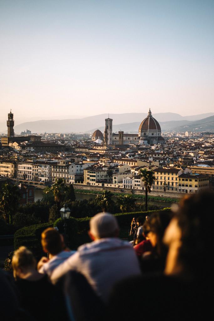firenze tramonto piazzale michelangelo travel blog di viaggi blogger italia moveforward