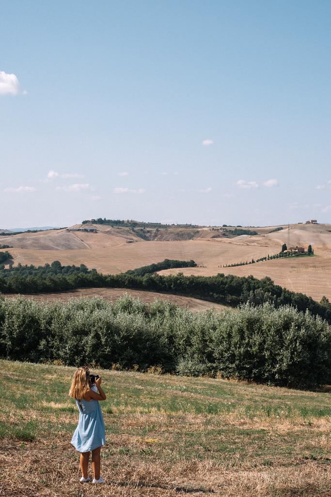 toscana val d'orcia estate