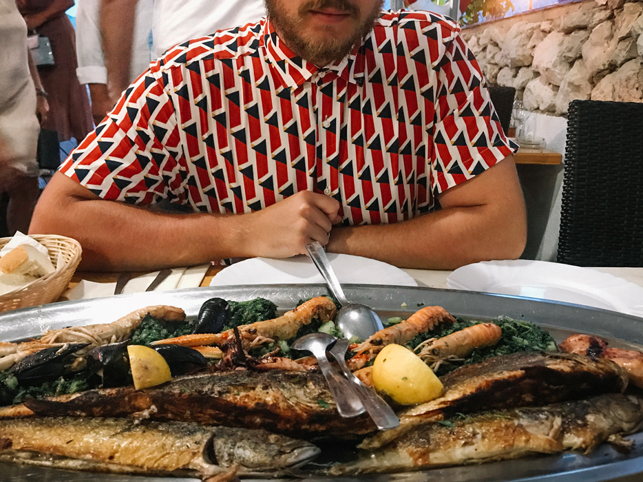ristorante kalun baska croazia