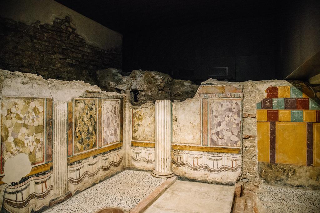 affreschi santuario repubblicano brescia parco archeologico