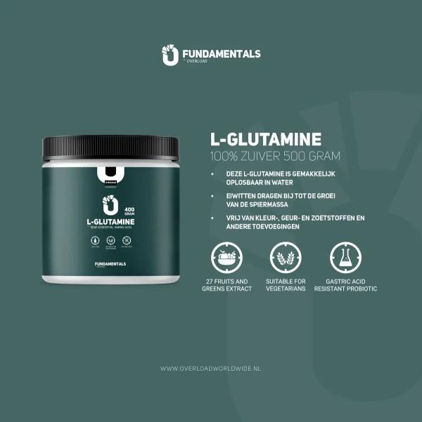 Fundamentals L-Glutamine