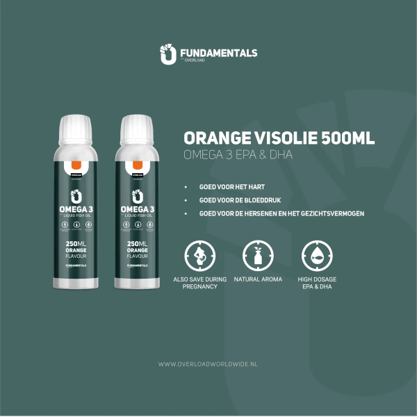 Fundamentals Orange Omega-3 Visolie
