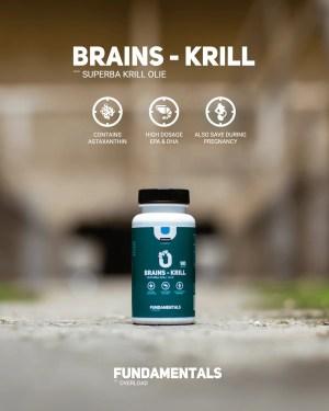 Fundamentals Brains Krill Olie & Astaxanthine