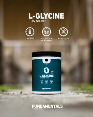 Fundamentals L-Glycine 500gram