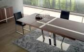 Mesa de Jantar com inox
