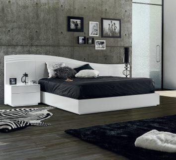 Quarto Casal em lacado branco. Transforme o seu quarto num Quarto de Sonho!