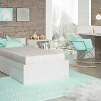 Convertível transformado em lacado branco. Visite-nos e conheça a nossa colecção de mobiliário para bebé!