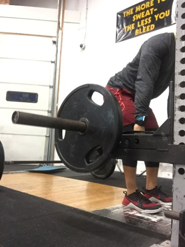 Elevated with Squat Rack