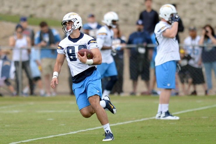 NFL: San Diego Chargers-Rookie Minicamp