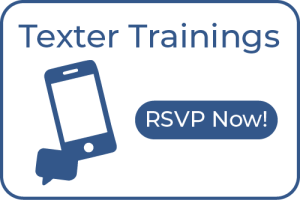 Texter Trainings. RSVP now!