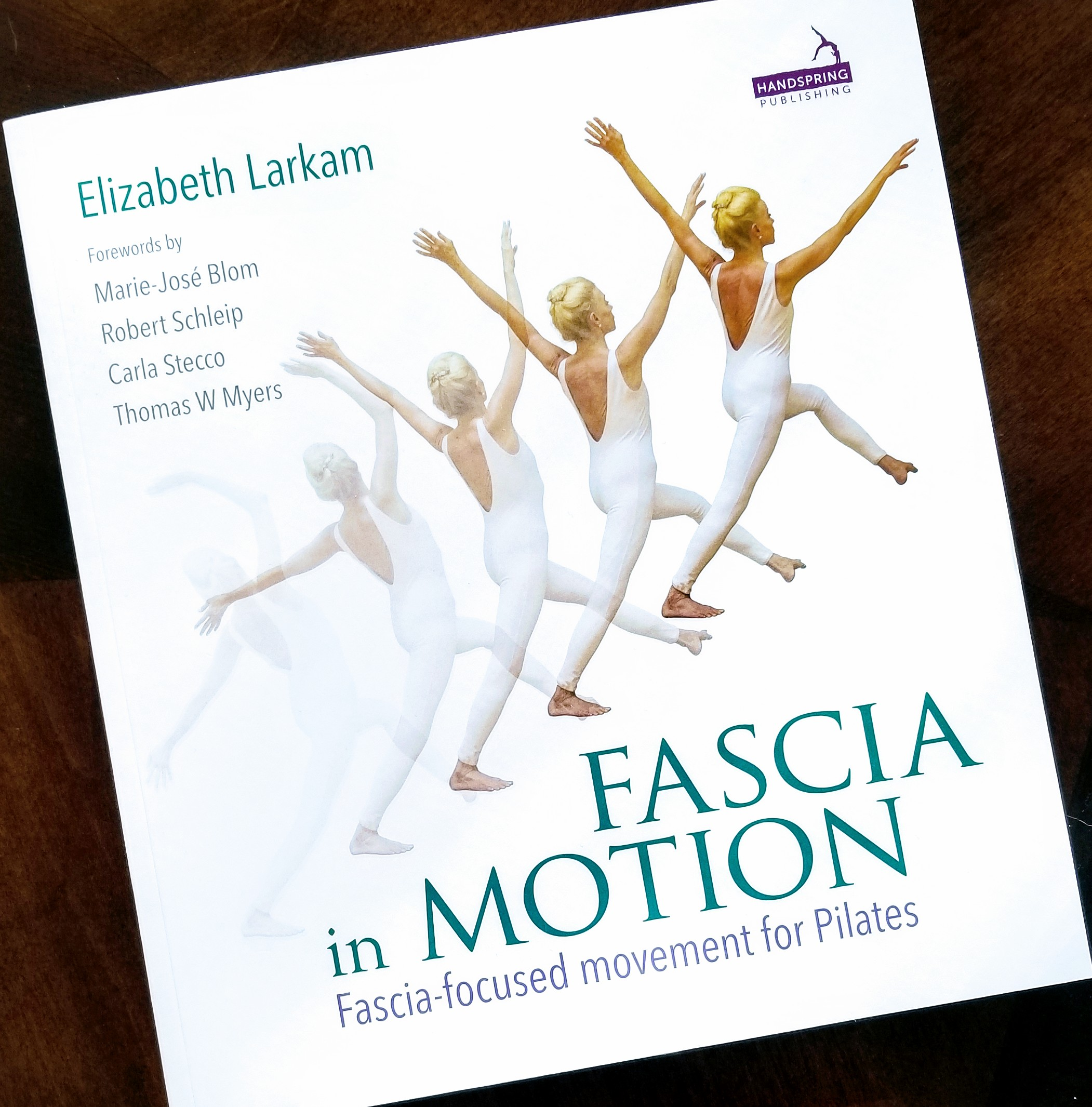 Holly Wallis discusses January 2019's BH Book Club selection: Fascia in Motion by Elizabeth Larkam