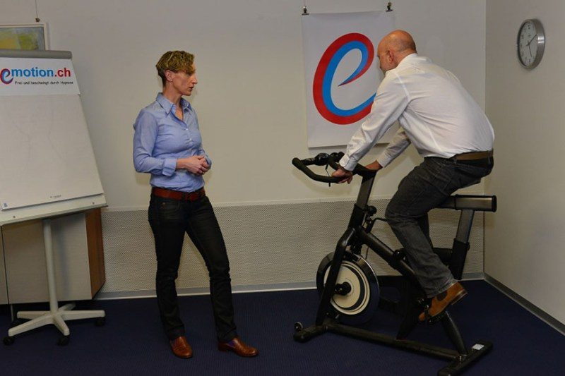 Firmenhypnose - Aktivwach Hypnose Spinning Bike