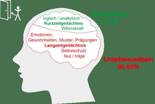 Bewusstsein und Unterbewusstsein erklärt