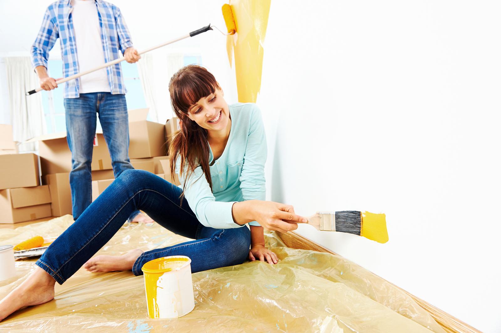 w nde streichen vor dem umzug schritt f r schritt. Black Bedroom Furniture Sets. Home Design Ideas