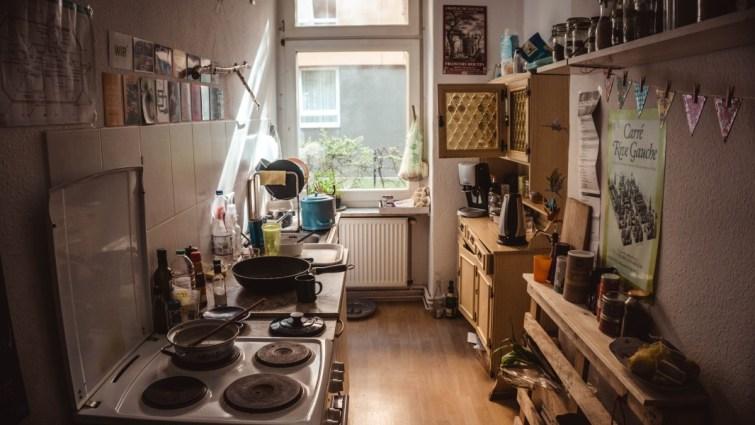 Kuche in erste eigene Zuhause