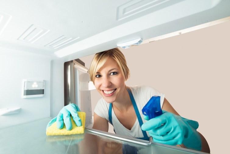 Kühlschrank abtauen am Tag vor dem Umzug