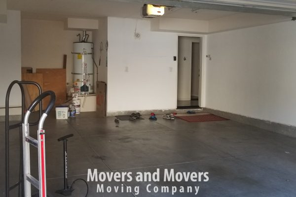 Picture of Movers and Movers at customer's new location