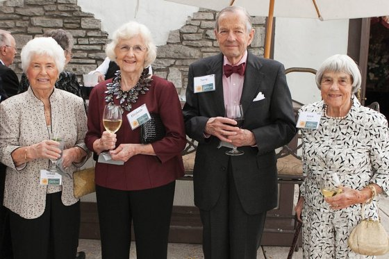 Lillian Dartnall, Elizabeth and Terry Lilly and Joan Mauk