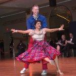 Dancers Jeremy Mainous and Dr. Lakshmi Sammarco