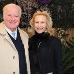 Martin and Maribeth Rahe, honorary chairs of the Flower Show Gala