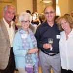 Bernie Barbash, Shelly Manes, Dennis Manes and Pam Barbash