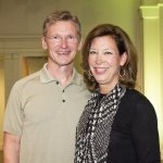 Spine patient and 2016 honoree Dr. Richard Rice with wife Jenni Rice