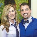 Dr. Andrew J. Ringer, foundation board member, with wife Mendy Ringer