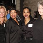 Playhouse Pride co-chair Julia Wesselkamper, Regina Carswell Russo, Julie Johnson and Barbara Gould