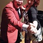 John Morris Russell and a dance partner