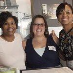 Leah Stewart, Kim Lampl and Sheryl McConney
