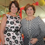 Ellen Grossi and Stephanie Sudbrack-Busam, Ladies Day co-chairs