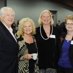 Ron and Phyllis McSwain with JoAnn Hagopian and Leslie Demoret