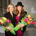 Cheryl Rose and Kim Kline, co-chairs of the Hats Off Luncheon