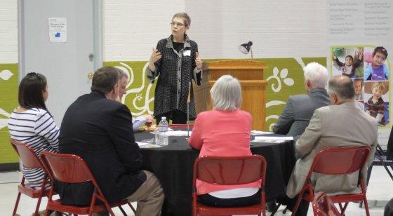 Keynote speaker Marta Brockmeyer